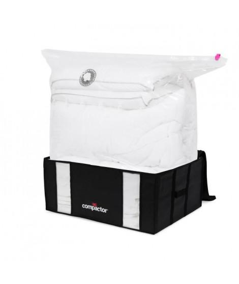 COMPACTOR Housse de rangement sous vide Black Edition - Nylon + polyéthylene + polypropylene - Taille XXL 210 litres