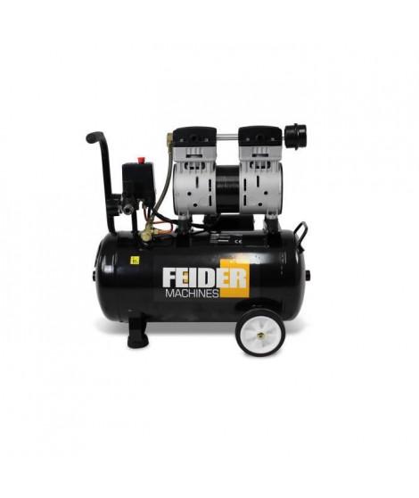FEIDER Compresseur sliencieux - 24 L - 800W - FC24LS