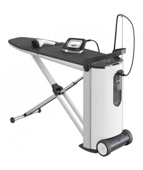 MIELE FashionMaster B 3847 Repasseuse - 2200 W - Vapeur constante : 100g/min - 4 bar - Table réglable de 83 a 102 cm