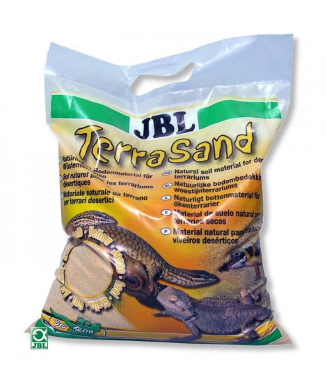 JBL Substrat de sol Terrasand jaune - Pour reptiles - 7,5kg