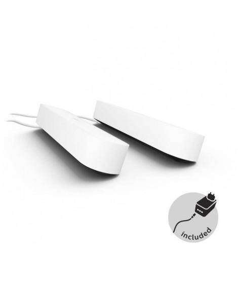 PHILIPS Hue Play Pack x2 - Blanc