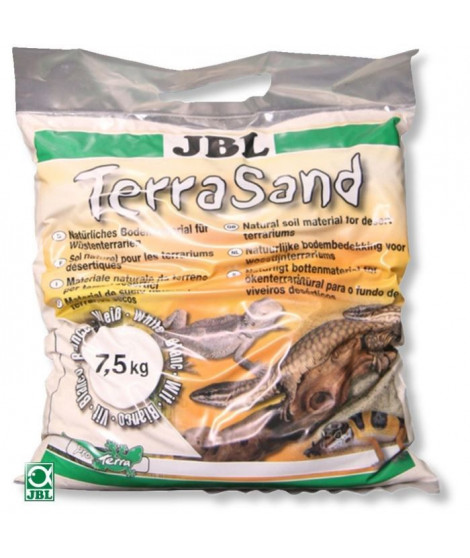 JBL Sable fin Terrasand blanc - Pour reptiles - 7,5kg