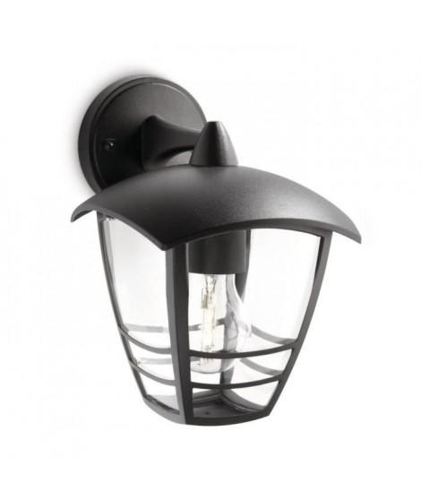CREEK-Applique d'extérieur Descendante Métal H20cm Noir Philips