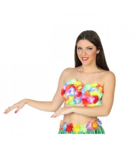 ATOSA Déguisement Top danseuse hawaienne
