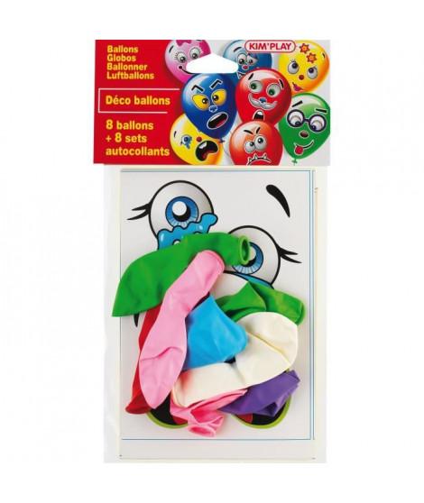 KIM'PLAY 8 Ballons a décorer