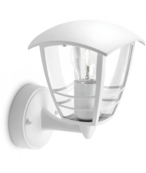 CREEK-Applique d'extérieur Montante Métal H20cm Blanc Philips