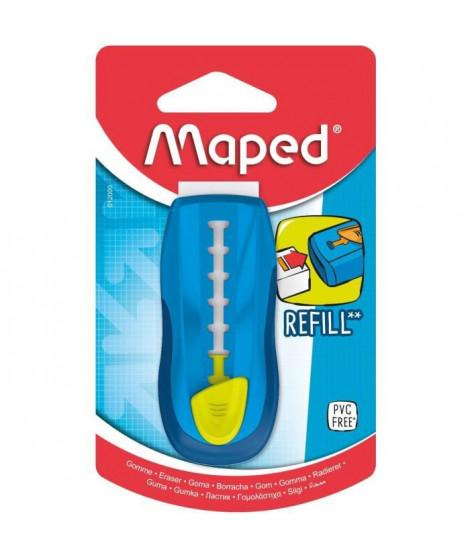 MAPED - UNIVERSAL GOM STICK coloris UNIQUE BLEU, en blister- E-COMMERCE