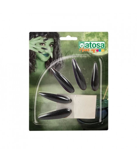 ATOSA - Faux Ongles Noirs