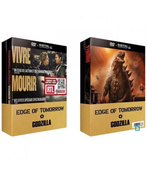 DVD Pack Edge of Tomorrow + Godzilla