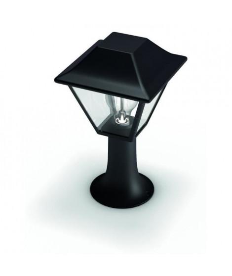 PHILIPS Alpenglow Balise - Borne solaire - Noire - 1x9.5W - 230V