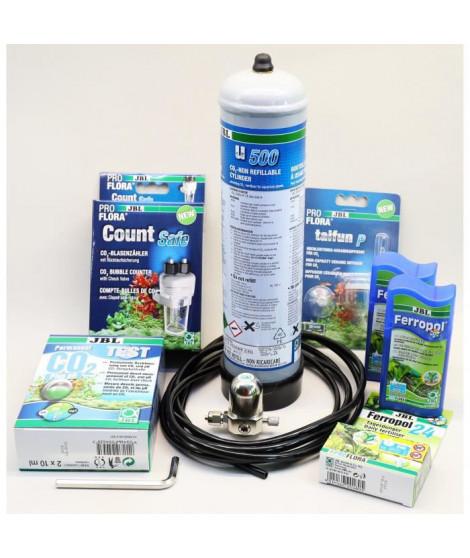 JBL Systeme complet de fertilisation au CO2 Proflora U504 - Pour plantes d'aquarium