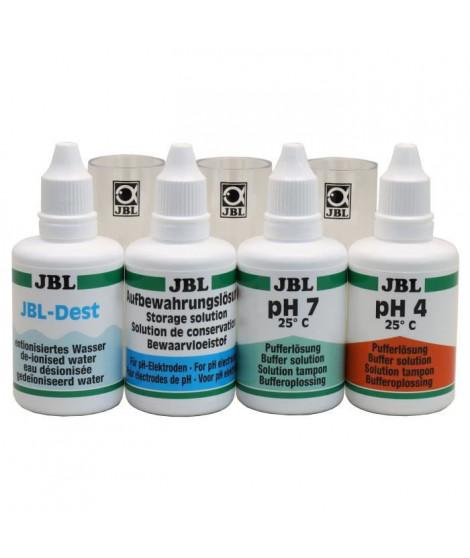 JBL Kit d'étalonnage pour sondes en pH Proflora Cal 2 - Pour plantes d'aquarium