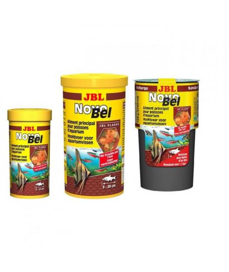 JBL Nourriture en flocons Novobel - Pour poisson d'aquarium - 1000ml
