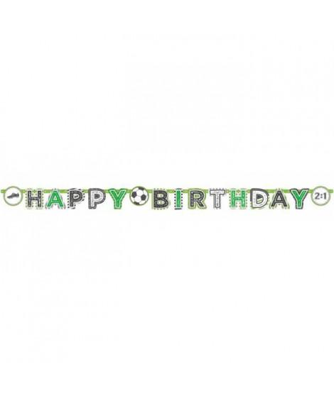 AMSCAN Guirlande lettres Happy Birthday Kicker Party 200 x 15 cm