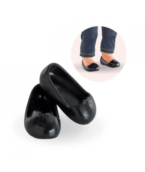 COROLLE - Ma Corolle - Ballerines noires pour poupée ma Corolle