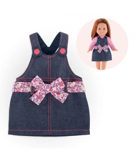 COROLLE - Ma Corolle - Robe salopette en jean pour poupée ma Corolle