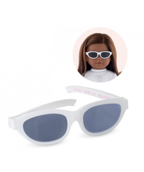 COROLLE - Ma Corolle - Lunettes blanches pour poupée ma Corolle