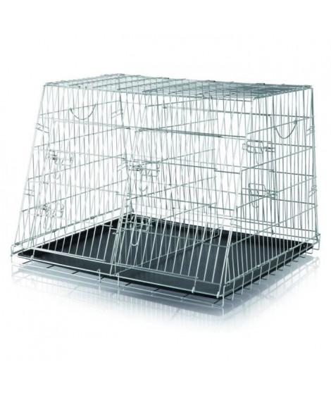 TRIXIE Double cage de transport chien 93x68x79 cm