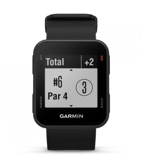 GARMIN Approach S10 Montre GPS de Golf - Noir