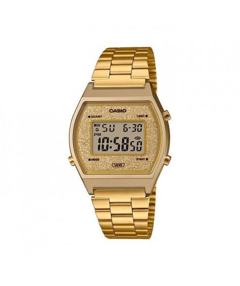 CASIO Collection Montre B640WGG-9EF chrono, compte a rebours, alarme, calendrier automatique