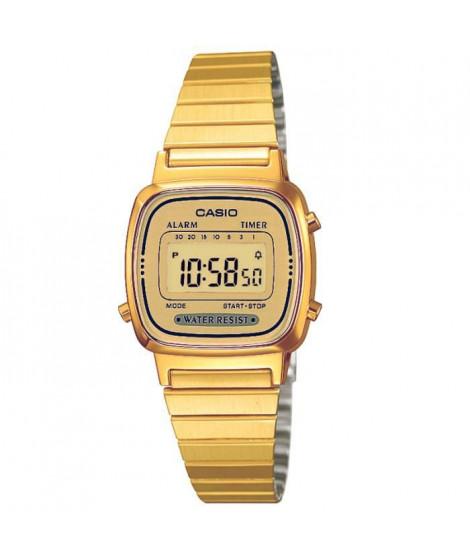 CASIO Montre Quartz Chronographe LA670WEGA9EF Femme