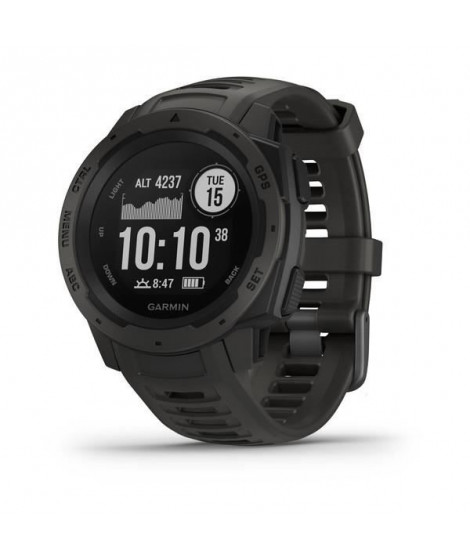 Garmin Instinct - Montre GPS robuste - Graphite Gray