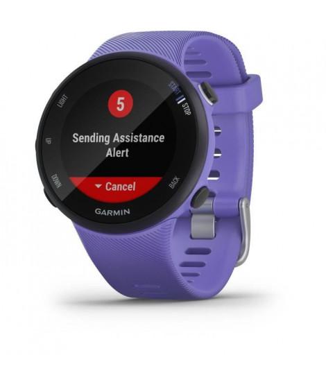 Garmin Forerunner 45 - Montre de course GPS connectée - Small - Violette