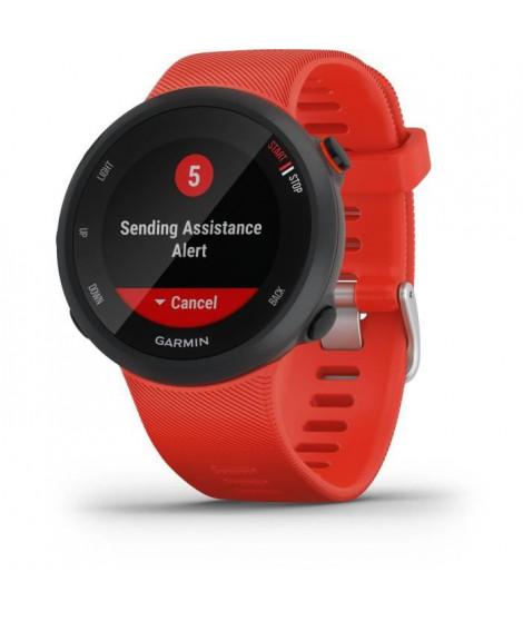 Garmin Forerunner 45 - Montre de course GPS connectée - Large - Rouge