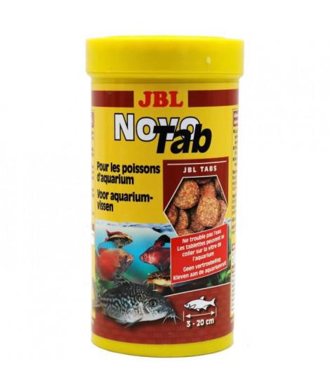 JBL 400 tablettes alimentaire Novotab - Pour poisson d'aquarium - 250ml