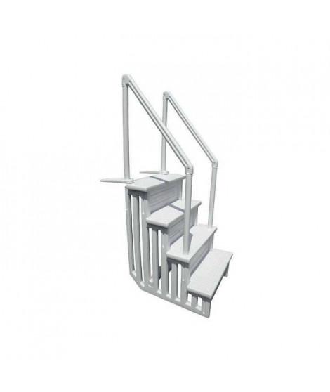 Escalier en résine - Pour piscine Escarésine