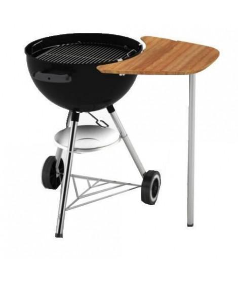 WEBER Plan de travail en bambou pour barbecue a charbon - 47 cm et 57 cm