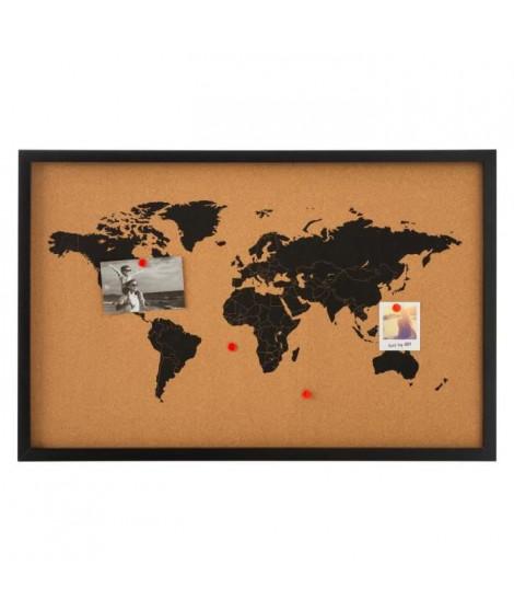 Tableau mémo en liege - 38 x 58 cm - Marron