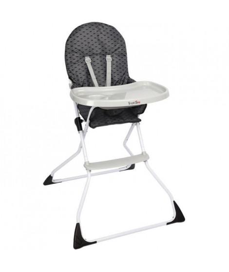 TROTTINE Chaise haute Kelwin - Nami gris