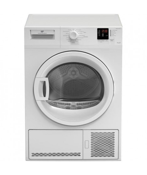 Seche-linge a condensation CONTINENTAL EDISON CESLCE10W - 10kg - Largeur 59,7 cm - Classe B - Blanc