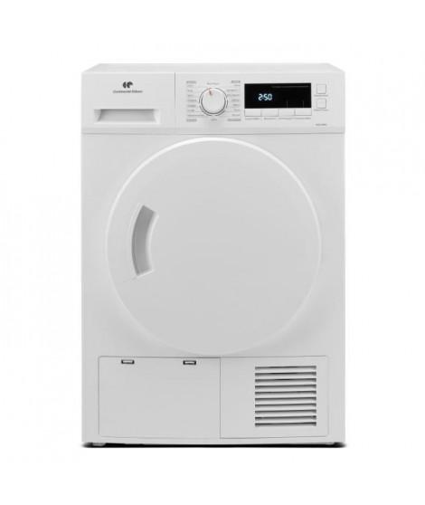 Seche-linge a condensation CONTINENTAL EDISON CESLCE8WV - 8kg - Largeur 59,5 cm - Classe B - Blanc