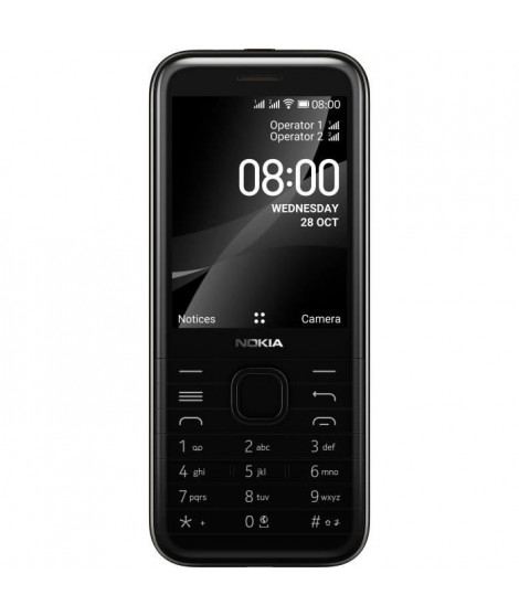 NOKIA 8000 4G Noir