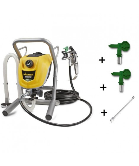 Wagner Airless HEA Control Pro 250M Pistolet a peinture Airless + 2 buses + rallonge