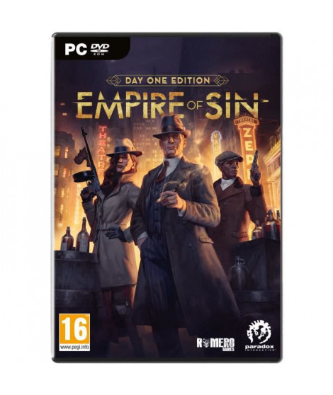 Empire Of Sin - Day One Edition Jeu PC