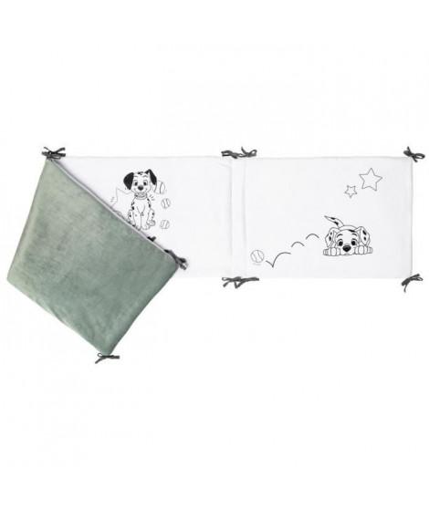 DISNEY Tour de lit 101 dalmatiens - 40 x 180 cm - Lacet velours 100% polyester