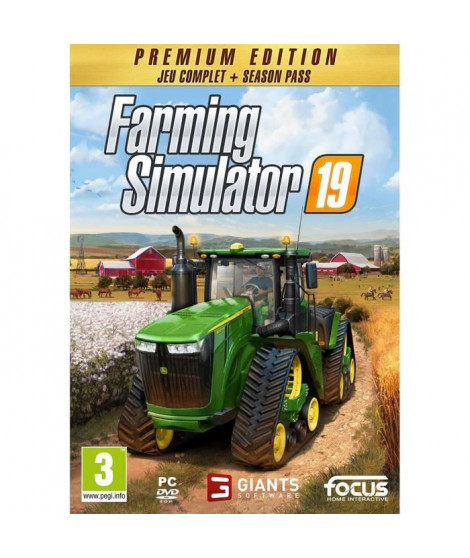 Farming Simulator 19 Édition Premium Jeu PC