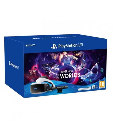 StarterPack PSVR MK5 : Casque PSVR + PlayStation Camera V2 + Adaptateur Naboo + VR Worlds - PlayStation Officiel
