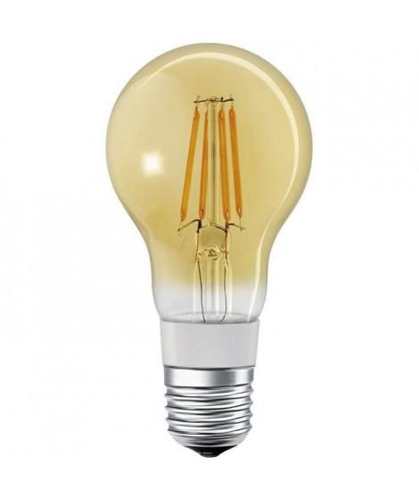 LEDVANCE Ampoule SMAR+ Bluetooth Fil Or Standard - 60 W - E27 - Puissance variable