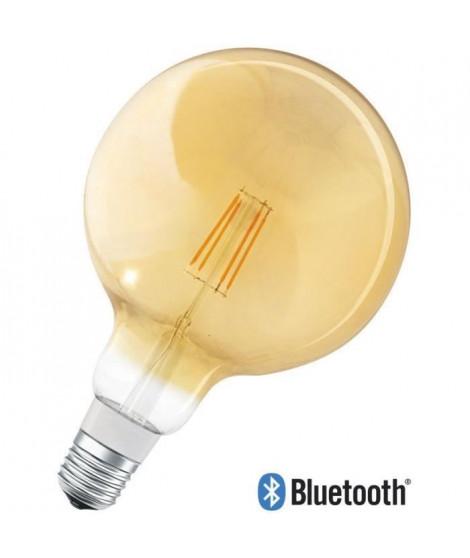 LEDVANCE Ampoule SMAR+ Bluetooth Fil Or Globe - 60 W - E27 - Puissance variable
