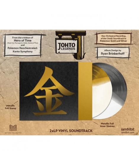 Vinyle - Johto Legends 2 LP Music from Pokemon Gold & Silver