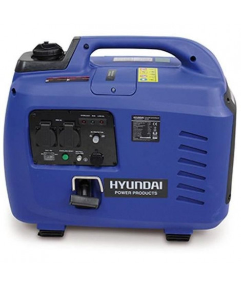 HYUNDAI Groupe électrogene essence Inverter 3300 W 3100 W - démarrage manuel avec lanceur  HG3300I