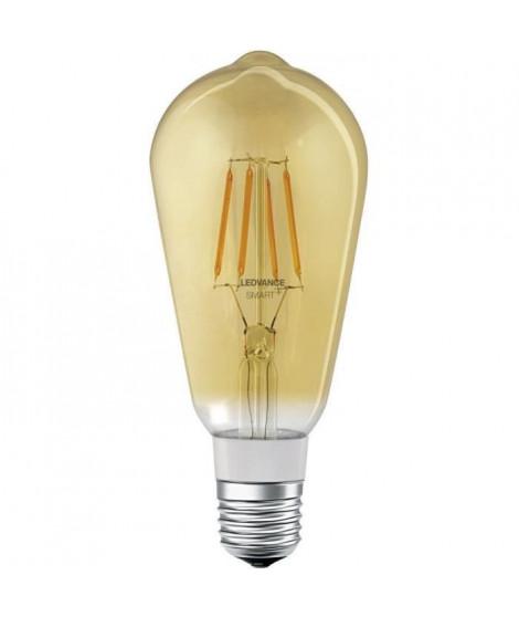LEDVANCE Ampoule SMAR+ BluetoothFil Or Edison - 60 W - E27 - Puissance variable