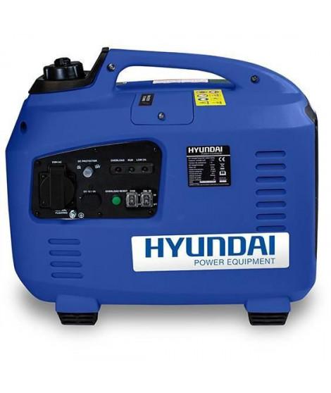 HYUNDAI Groupe électrogene essence Inverter 2000 W 1700 W - démarrage manuel avec lanceur  HG2000I-B