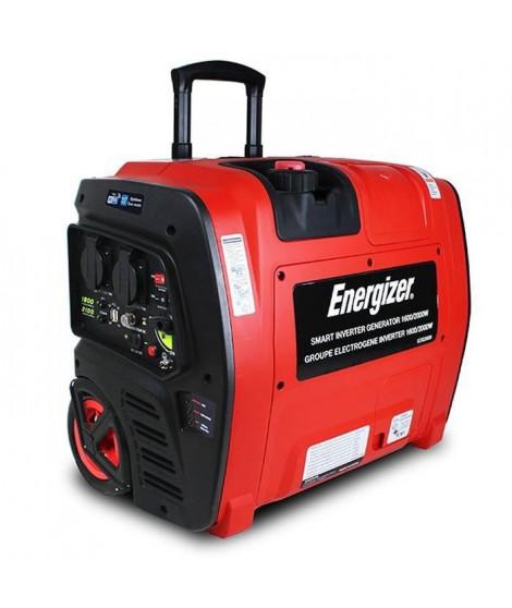 ENERGIZER Groupe électrogene essence Inverter 2100 W 1800 W - démarrage électrique - Transmission Wifi EZG2001I