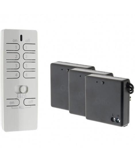 OTIO Pack éclairage connecté avec télécommande et 3 modules éclairage -