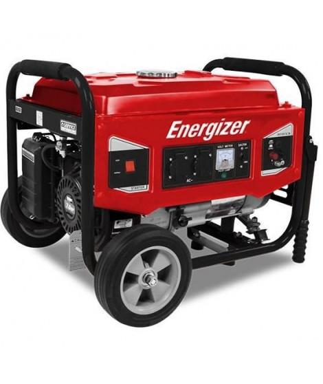 Energizer Groupe électrogene essence de chantier 3000 W 2700 W - Systeme AVR EZG3000